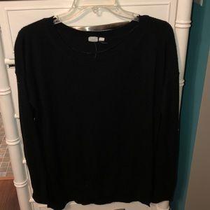 Light weight black sweater